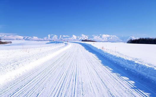 Картинки по запросу снежная дорога