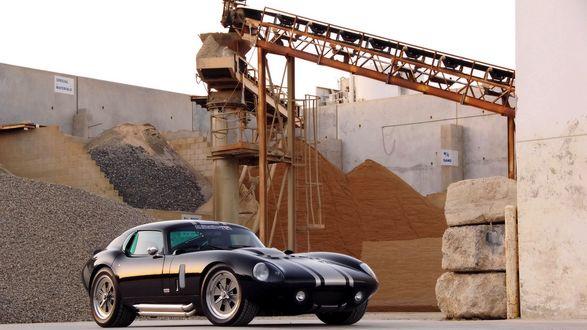 Обои Авто Shelby Daytona Cobra Superformance 2009 / Шелби Дайтона Кобра