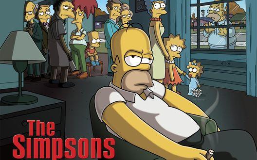 Обои The Simpsons