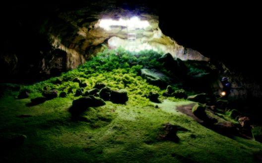 Обои Пещера в Tulelake Калифорния