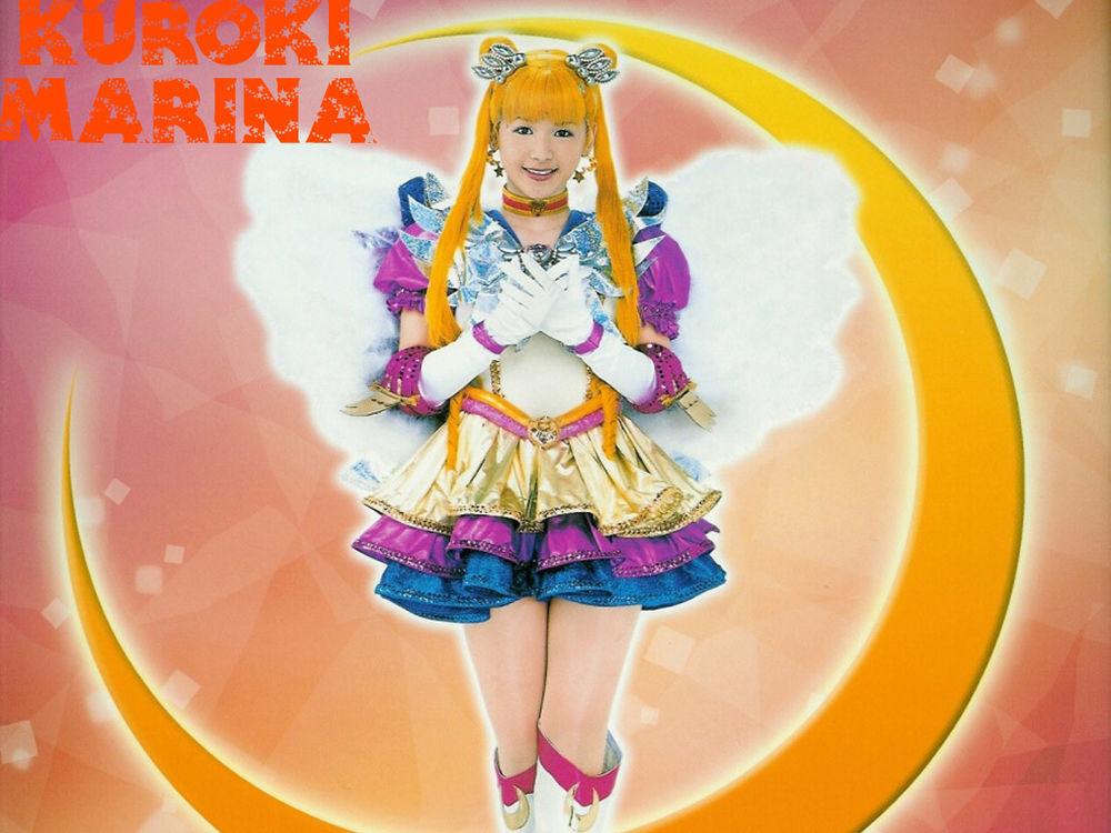 Обои для рабочего стола Сейлор Мун - Куроки Марина, мюзиклы по аниме Сейлор Мун, sera myu (kuroki marina)
