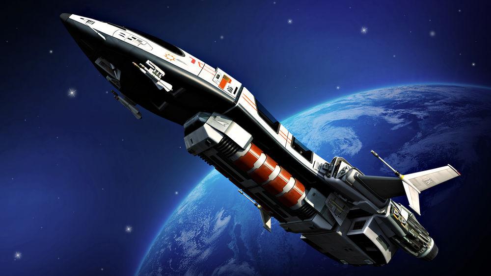 Обои для рабочего стола космические корабли