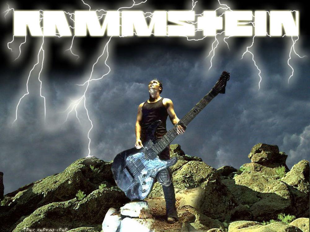 Обои для рабочего стола Rammstein