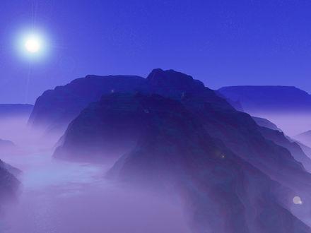 Обои Вершина гор