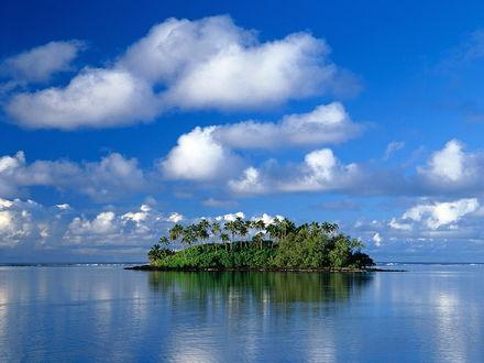 Обои Остров