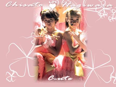 Обои Chisato & Mai Hagiwara (группа C-ute)