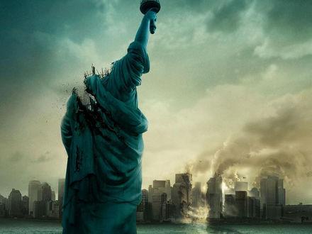 Обои Стихийное бедствие,разрушенная 'Статуя Свободы'