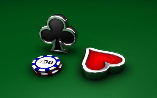 Обои Фишки - атребутика казино