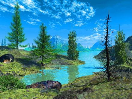Обои Пейзаж
