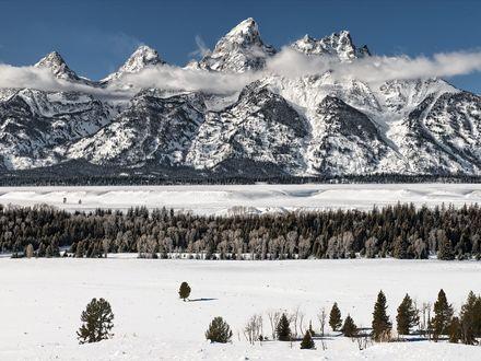 Обои Вайоминг / Wyoming-красивые места для активного отдыха