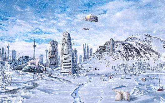 Обои Глобальное замерзание
