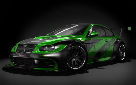 Обои Рендер BMW M3 спортивный вариант (Castrol, michelin, 1)