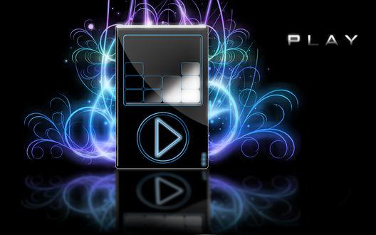 Обои Музыкальный MP3 плеер (Play)