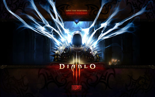 Обои Игра Diablo (and the heavens shall tremble, Bizzart intertaiment, all righst reserved)