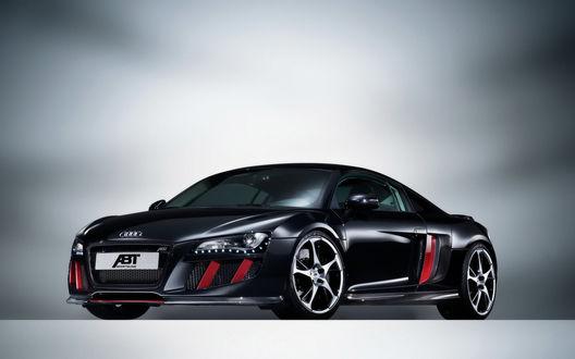 Обои Черная Ауди / Audi ABT AS5