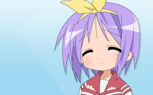 Обои Цукаса (аниме 'Счастливая звезда' / 'Lucky Star')