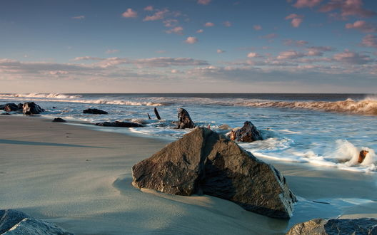 Обои Камни на берегу