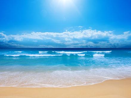 Обои Лучезарное море