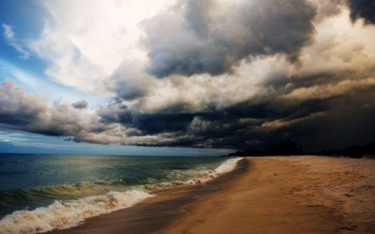 Обои Море после шторма