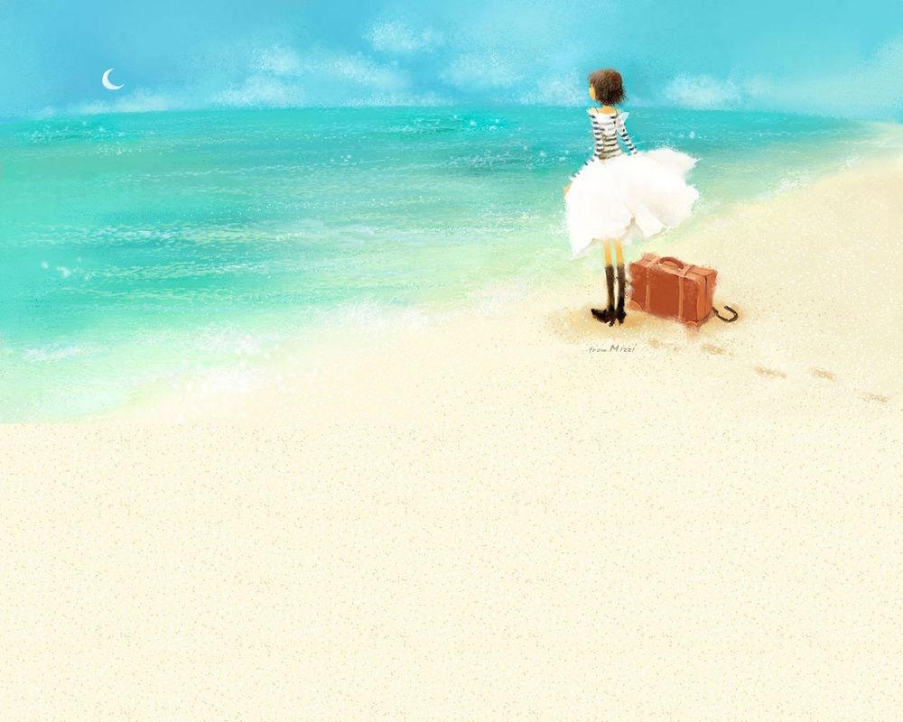 Рыжая девушка на пляже фото 19 фотография