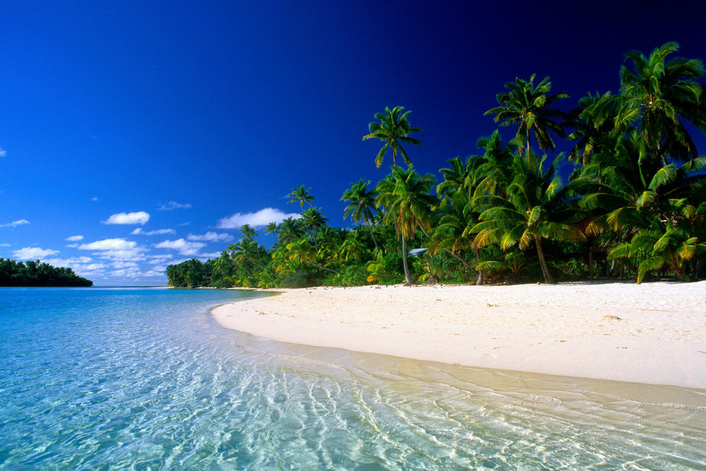 Пляж на рабочий стол
