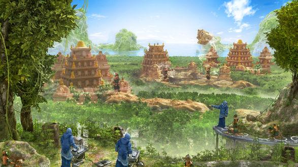 Обои Прогрессоры учат отсталую цивилизацию