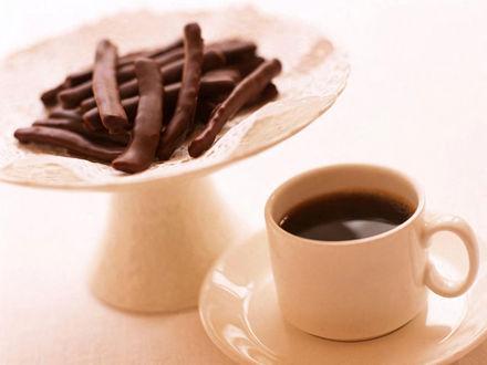 Обои Кофе и шоколад
