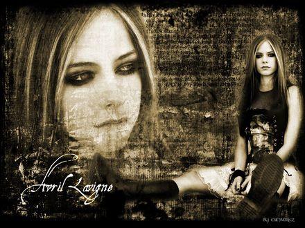 Обои Avril Lavigne by Exeworkz