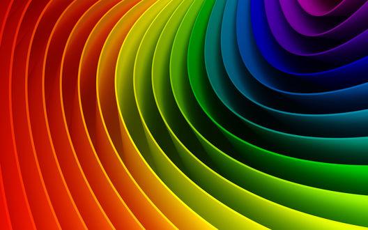 Обои Все цвета радуги