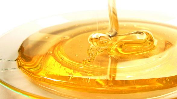 Обои Янтарный мёд