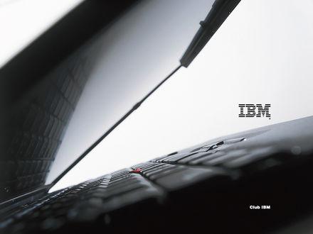 Обои Ноутбук (IBM, club IBM)