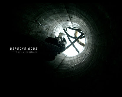 Обои Темный колодец (Depeche mode >Enjoy the Silence)