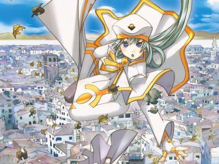 Обои Алиса в небе, аниме 'Ария'