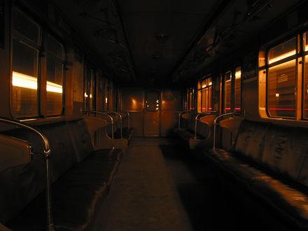 Обои Вагончик метро