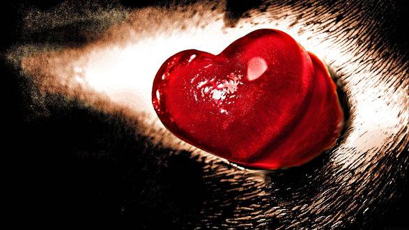 Обои Два сердца
