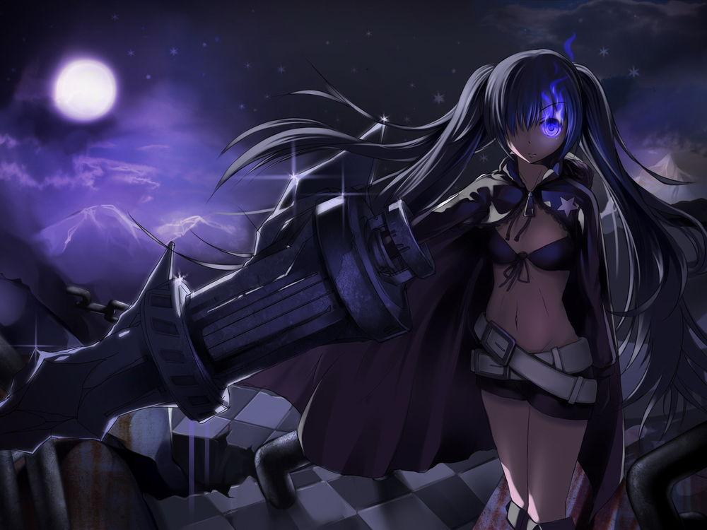 Обои для рабочего стола Anime - Black Rock Shooter