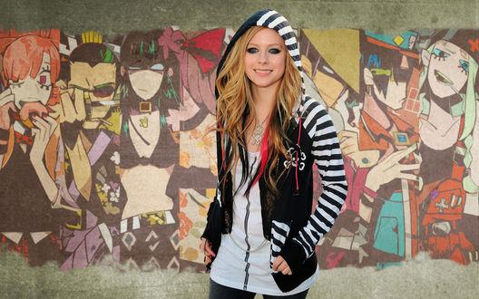 Обои Avril Lavigne / Аврил Лавин