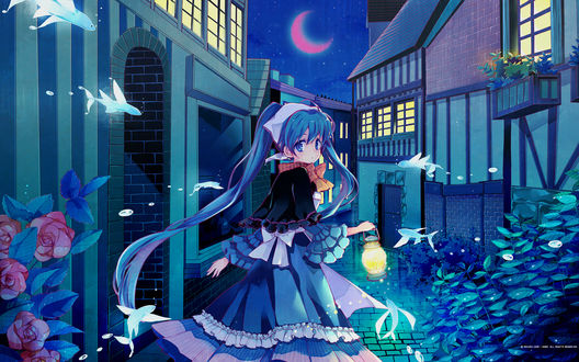 Обои Vocaloid / Вокалоид