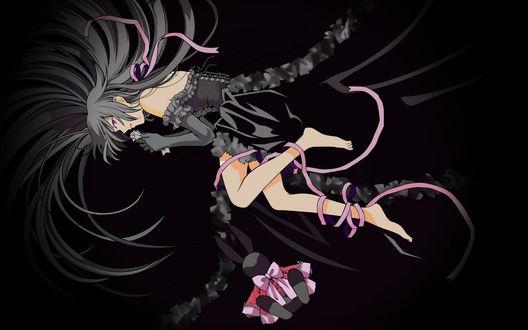 Обои Алиса (Кровавый Чёрный Кролик Бездны) из аниме Pandora Hearts