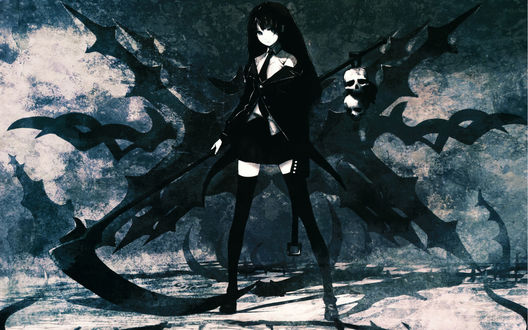 Обои Аниме Black Rock Shooter