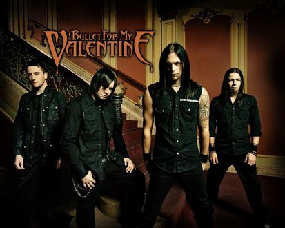 Обои Металкор-группа Bullet For My Valentine