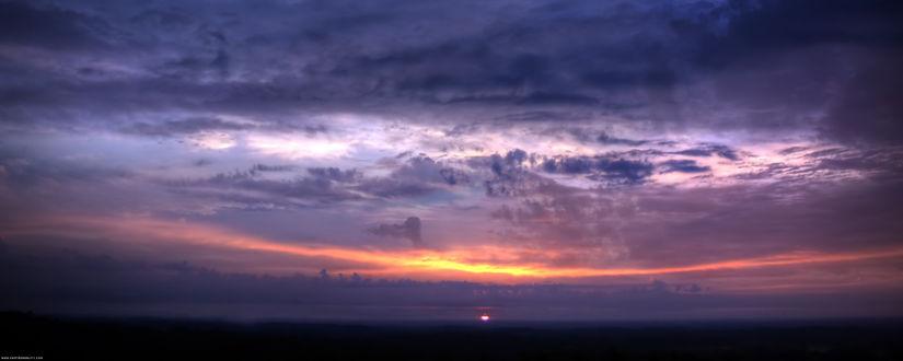 Обои Красивый закат
