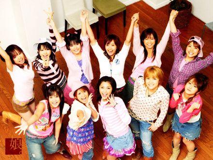 Обои Японская группа Morning Musume