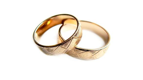 Обои Обручальные кольца
