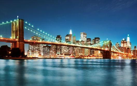 Обои Бруклинский мост