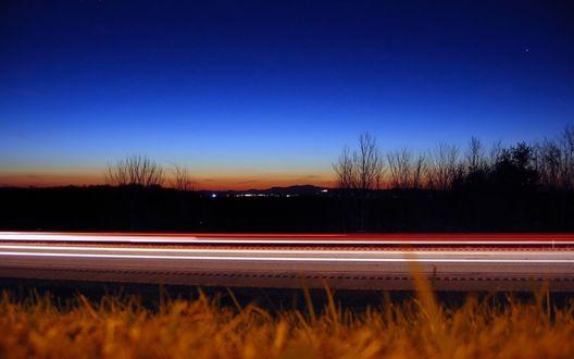 Обои Скоростное шоссе
