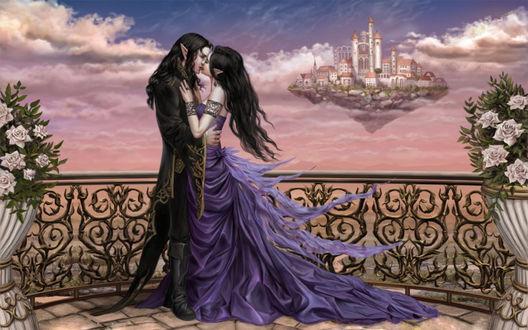 Обои Эльфийская любовь