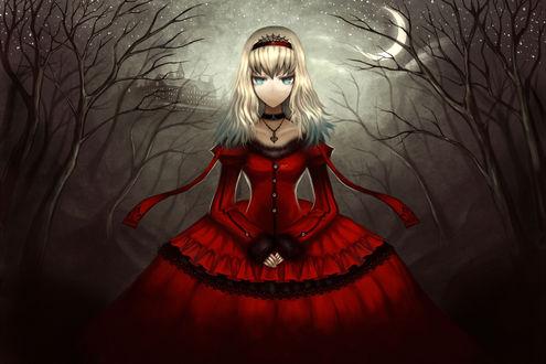 Обои Алиса / Alice Margatroid из серии игр Touhou