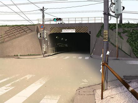 Обои Подземный переход