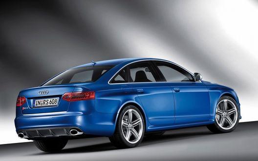 Обои 2009 Audi RS6